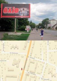 Билборд №214553 в городе Владимир-Волынский (Волынская область), размещение наружной рекламы, IDMedia-аренда по самым низким ценам!