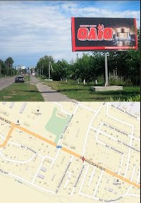Билборд №214560 в городе Владимир-Волынский (Волынская область), размещение наружной рекламы, IDMedia-аренда по самым низким ценам!