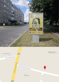 Ситилайт №214562 в городе Владимир-Волынский (Волынская область), размещение наружной рекламы, IDMedia-аренда по самым низким ценам!