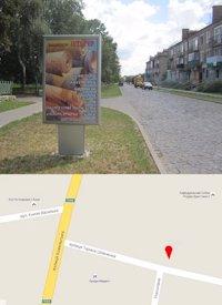 Ситилайт №214563 в городе Владимир-Волынский (Волынская область), размещение наружной рекламы, IDMedia-аренда по самым низким ценам!