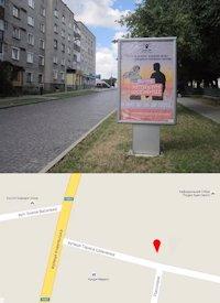 Ситилайт №214564 в городе Владимир-Волынский (Волынская область), размещение наружной рекламы, IDMedia-аренда по самым низким ценам!