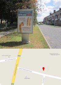 Ситилайт №214565 в городе Владимир-Волынский (Волынская область), размещение наружной рекламы, IDMedia-аренда по самым низким ценам!