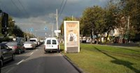 Ситилайт №214863 в городе Винница (Винницкая область), размещение наружной рекламы, IDMedia-аренда по самым низким ценам!