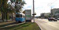 Ситилайт №214872 в городе Винница (Винницкая область), размещение наружной рекламы, IDMedia-аренда по самым низким ценам!