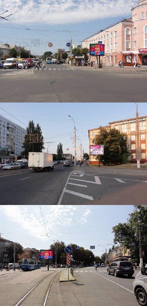 Экран №215364 в городе Винница (Винницкая область), размещение наружной рекламы, IDMedia-аренда по самым низким ценам!