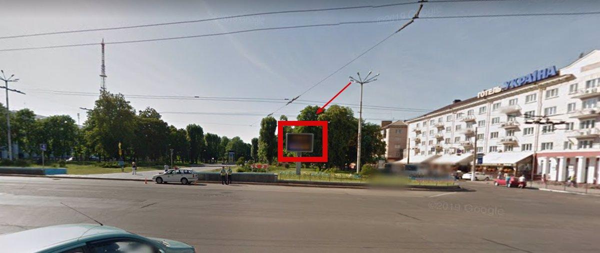 Экран №215367 в городе Чернигов (Черниговская область), размещение наружной рекламы, IDMedia-аренда по самым низким ценам!