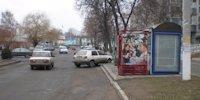 Остановка №217764 в городе Гадяч (Полтавская область), размещение наружной рекламы, IDMedia-аренда по самым низким ценам!