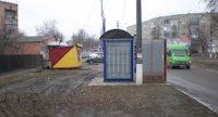 Остановка №217766 в городе Гадяч (Полтавская область), размещение наружной рекламы, IDMedia-аренда по самым низким ценам!