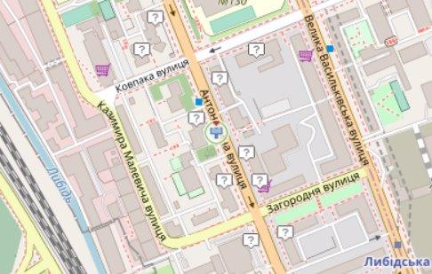IDMedia Арендовать и разместить Экран в городе Киев (Киевская область) №218124 схема