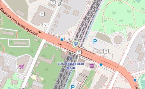 IDMedia Арендовать и разместить Экран в городе Киев (Киевская область) №218198 схема