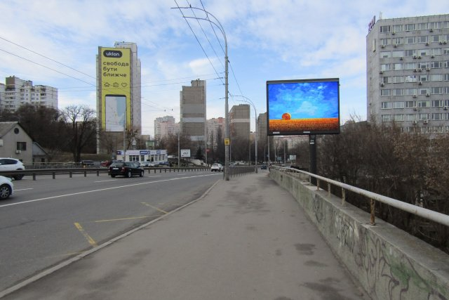Экран №218202 в городе Киев (Киевская область), размещение наружной рекламы, IDMedia-аренда по самым низким ценам!