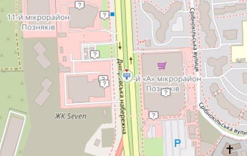 IDMedia Арендовать и разместить Экран в городе Киев (Киевская область) №218267 схема