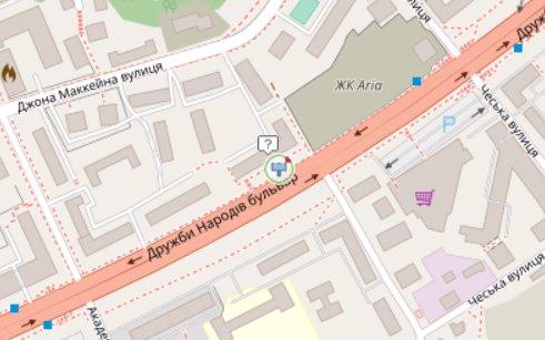 IDMedia Арендовать и разместить Экран в городе Киев (Киевская область) №218280 схема