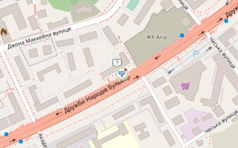 IDMedia Арендовать и разместить Экран в городе Киев (Киевская область) №218281 схема