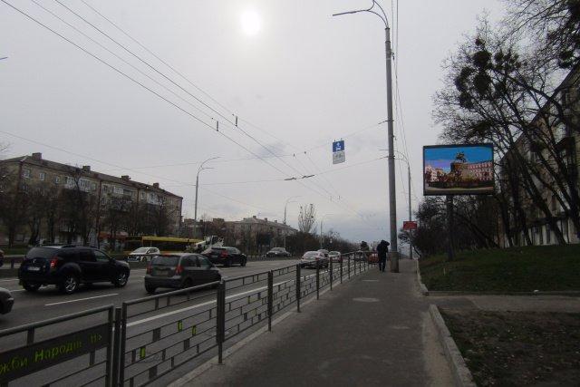 Экран №218284 в городе Киев (Киевская область), размещение наружной рекламы, IDMedia-аренда по самым низким ценам!