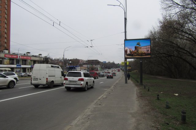 Экран №218341 в городе Киев (Киевская область), размещение наружной рекламы, IDMedia-аренда по самым низким ценам!
