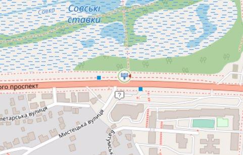 IDMedia Арендовать и разместить Экран в городе Киев (Киевская область) №218341 схема