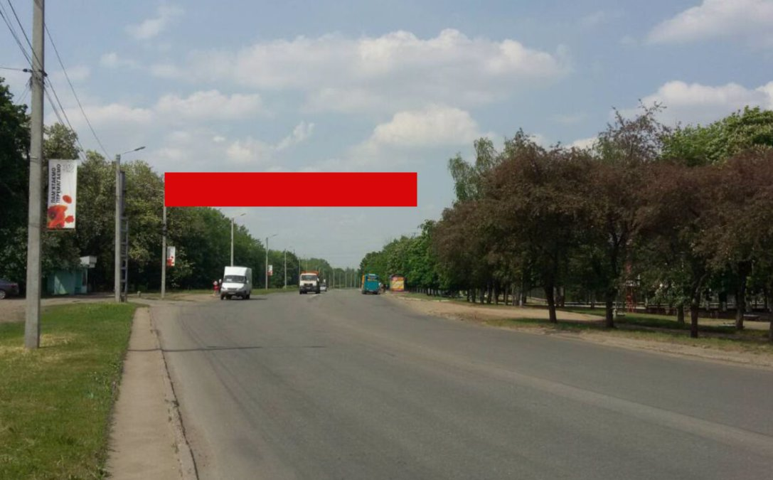 Растяжка №218658 в городе Константиновка (Донецкая область), размещение наружной рекламы, IDMedia-аренда по самым низким ценам!