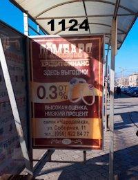 Ситилайт №218805 в городе Дружковка (Донецкая область), размещение наружной рекламы, IDMedia-аренда по самым низким ценам!