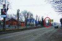 Холдер №218857 в городе Покровск(Красноармейск) (Донецкая область), размещение наружной рекламы, IDMedia-аренда по самым низким ценам!