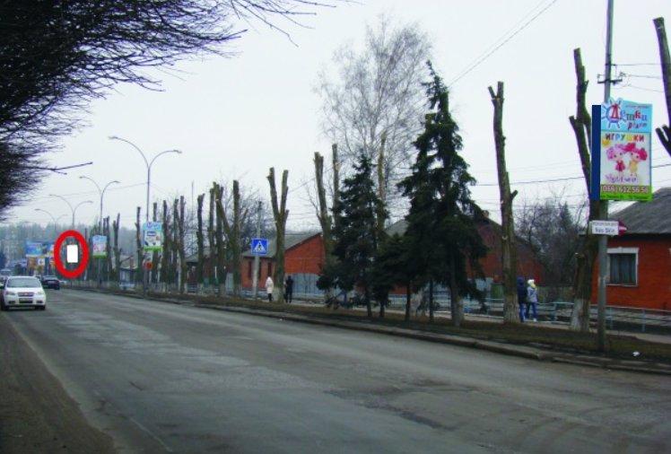 Холдер №218862 в городе Покровск(Красноармейск) (Донецкая область), размещение наружной рекламы, IDMedia-аренда по самым низким ценам!