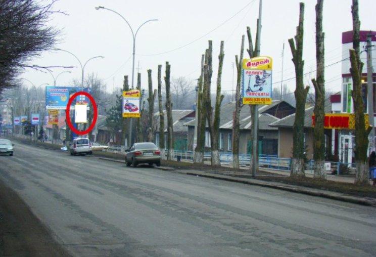 Холдер №218866 в городе Покровск(Красноармейск) (Донецкая область), размещение наружной рекламы, IDMedia-аренда по самым низким ценам!