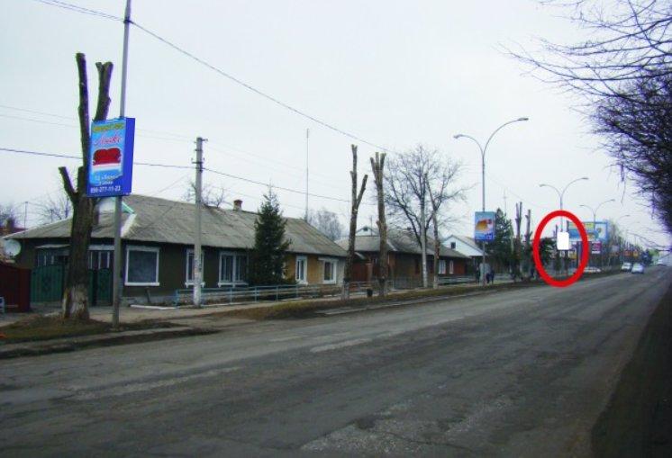 Холдер №218871 в городе Покровск(Красноармейск) (Донецкая область), размещение наружной рекламы, IDMedia-аренда по самым низким ценам!