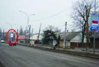 Холдер №218874 в городе Покровск(Красноармейск) (Донецкая область), размещение наружной рекламы, IDMedia-аренда по самым низким ценам!