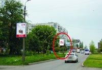 Холдер №218879 в городе Покровск(Красноармейск) (Донецкая область), размещение наружной рекламы, IDMedia-аренда по самым низким ценам!