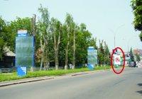 Ситилайт №218895 в городе Покровск(Красноармейск) (Донецкая область), размещение наружной рекламы, IDMedia-аренда по самым низким ценам!