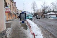 Ситилайт №218988 в городе Надвирна (Ивано-Франковская область), размещение наружной рекламы, IDMedia-аренда по самым низким ценам!