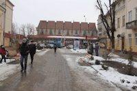 Ситилайт №218992 в городе Надвирна (Ивано-Франковская область), размещение наружной рекламы, IDMedia-аренда по самым низким ценам!