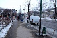 Ситилайт №219005 в городе Надвирна (Ивано-Франковская область), размещение наружной рекламы, IDMedia-аренда по самым низким ценам!