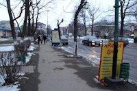 Ситилайт №219007 в городе Надвирна (Ивано-Франковская область), размещение наружной рекламы, IDMedia-аренда по самым низким ценам!