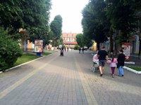 Ситилайт №219034 в городе Надвирна (Ивано-Франковская область), размещение наружной рекламы, IDMedia-аренда по самым низким ценам!