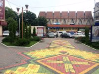 Ситилайт №219040 в городе Надвирна (Ивано-Франковская область), размещение наружной рекламы, IDMedia-аренда по самым низким ценам!