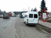 Ситилайт №219350 в городе Делятин (Ивано-Франковская область), размещение наружной рекламы, IDMedia-аренда по самым низким ценам!