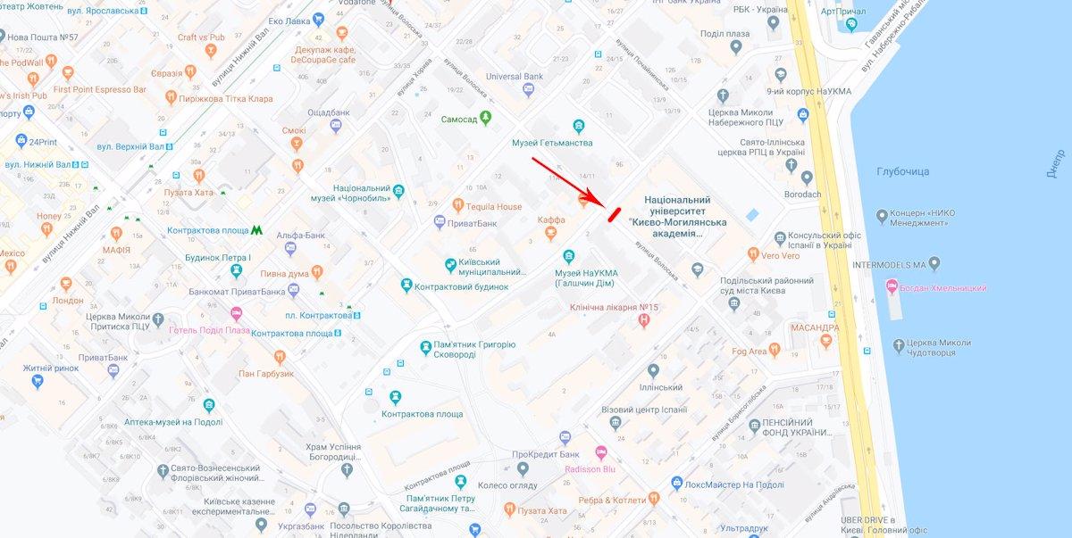 IDMedia Наружная реклама в городе Киев (Киевская область), Ситилайт в городе Киев №219732 схема