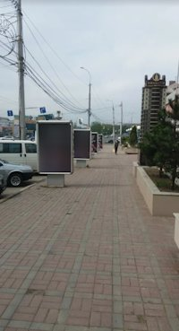 Ситилайт №220644 в городе Винница (Винницкая область), размещение наружной рекламы, IDMedia-аренда по самым низким ценам!