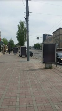 Ситилайт №220645 в городе Винница (Винницкая область), размещение наружной рекламы, IDMedia-аренда по самым низким ценам!