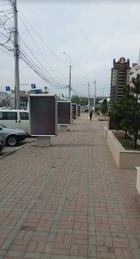 Ситилайт №220646 в городе Винница (Винницкая область), размещение наружной рекламы, IDMedia-аренда по самым низким ценам!