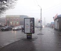 Ситилайт №220686 в городе Лозовая (Харьковская область), размещение наружной рекламы, IDMedia-аренда по самым низким ценам!