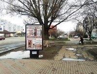 Ситилайт №220692 в городе Лозовая (Харьковская область), размещение наружной рекламы, IDMedia-аренда по самым низким ценам!