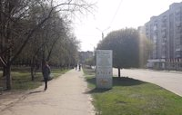 Ситилайт №220703 в городе Лозовая (Харьковская область), размещение наружной рекламы, IDMedia-аренда по самым низким ценам!