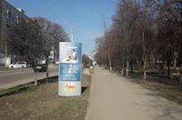 Ситилайт №220704 в городе Лозовая (Харьковская область), размещение наружной рекламы, IDMedia-аренда по самым низким ценам!