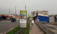 Ситилайт №220725 в городе Лозовая (Харьковская область), размещение наружной рекламы, IDMedia-аренда по самым низким ценам!