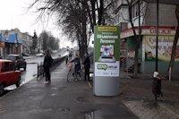 Ситилайт №220731 в городе Лозовая (Харьковская область), размещение наружной рекламы, IDMedia-аренда по самым низким ценам!