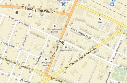 IDMedia Арендовать и разместить Брандмауэр в городе Лозовая (Харьковская область) №220794 схема