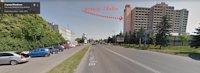 Брандмауэр №220858 в городе Ужгород (Закарпатская область), размещение наружной рекламы, IDMedia-аренда по самым низким ценам!