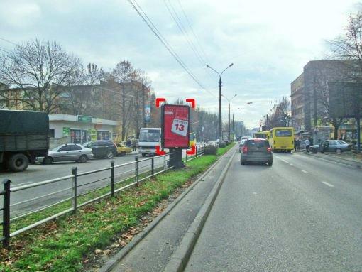 Ситилайт №221228 в городе Львов (Львовская область), размещение наружной рекламы, IDMedia-аренда по самым низким ценам!